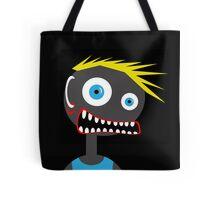 Crazy blond man Tote Bag