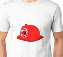 Fireman Hat Unisex T-Shirt