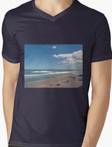 Beach day  Mens V-Neck T-Shirt