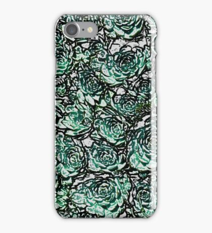 Abstract Green Nature Pattern iPhone Case/Skin