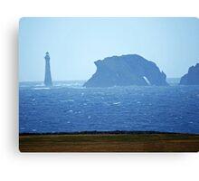 Chicken Rock Lighthouse & Drinking Dragon Rock Canvas Print