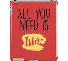 Gilmore Girls - All you need is Lukes iPad Case/Skin