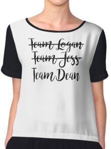Gilmore Girls - Team Dean Chiffon Top