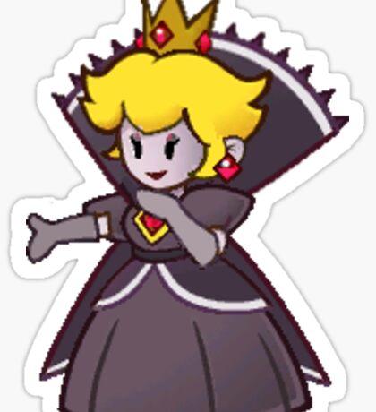 Evil Peach Sticker