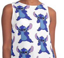 Stitch Kawaii Contrast Tank
