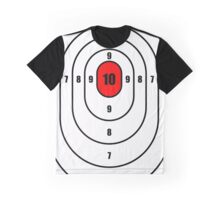 Oval shooting target Graphic T-Shirt