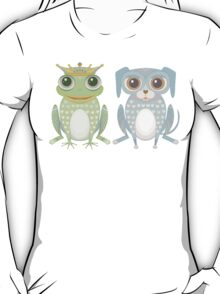 Prince Frog and Lanky Dog T-Shirt