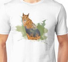 Double Exposure Lynx Unisex T-Shirt
