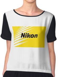 nikon logo 2016 Chiffon Top
