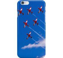 Aerobatics above Melbourne iPhone Case/Skin