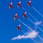 Aerobatics above Melbourne by MichaelJP