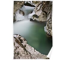 A cold day along Fornant river Poster