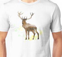 Double Exposure Deer Unisex T-Shirt