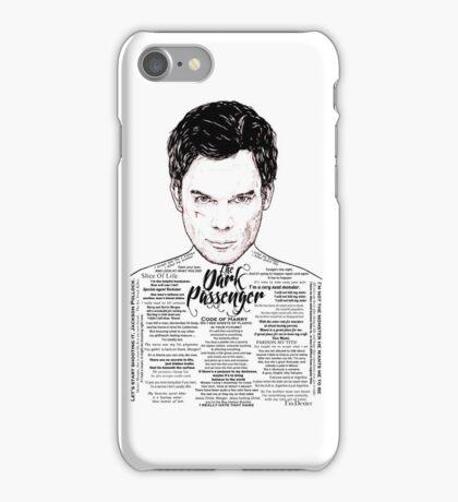 Dexter The Dark Passenger iPhone Case/Skin
