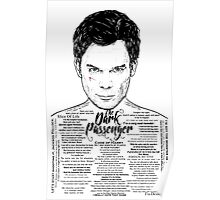 Dexter The Dark Passenger Poster