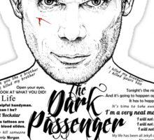 Dexter The Dark Passenger Sticker
