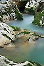 Silky water in Cheran river by Patrick Morand