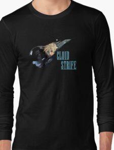 <FINAL FANTASY> Cloud Strife Long Sleeve T-Shirt