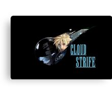 <FINAL FANTASY> Cloud Strife Canvas Print