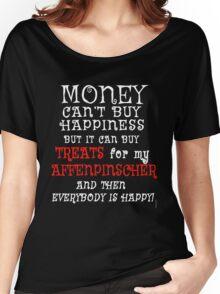 AFFENPINSCHER Funny Dog Humor Women's Relaxed Fit T-Shirt