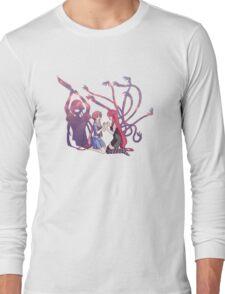 Yuno Gasai and Lucy Anime Manga Shirt Long Sleeve T-Shirt