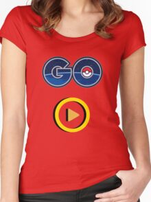 Play Pokemon GO Women's Fitted Scoop T-Shirt