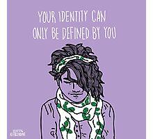 Your Identity  Photographic Print