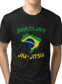 Brazilian Jiu-Jitsu Martial Arts Tri-blend T-Shirt