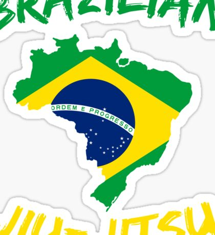 Brazilian Jiu-Jitsu Martial Arts Sticker