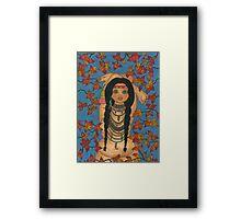 Tehya Framed Print