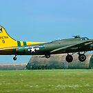 "B-17G Fortress II 44-85784 G-BEDF ""Sally B"" by Colin Smedley"