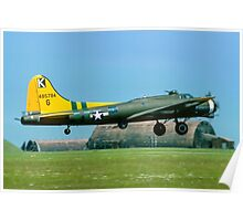 "B-17G Fortress II 44-85784 G-BEDF ""Sally B"" Poster"