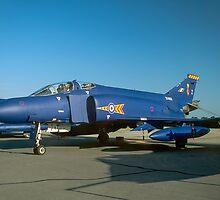 McDonnell F-4M Phantom FGR.2 XV408/Z by Colin Smedley