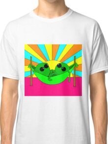 Trippy Peas in a Far Out Pod Classic T-Shirt