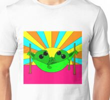 Trippy Peas in a Far Out Pod Unisex T-Shirt