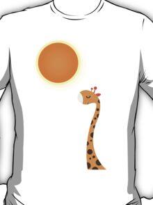 Orange and Sun T-Shirt