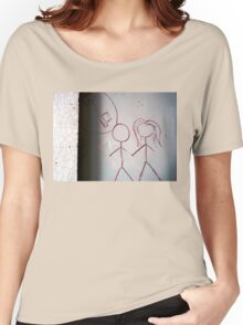 Idea or Vision . Women's Relaxed Fit T-Shirt