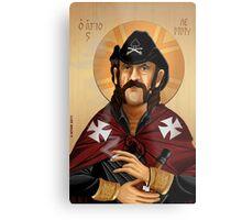 Saint Lemmy Metal Print