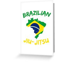 Brazilian Jiu-Jitsu Martial Arts Greeting Card
