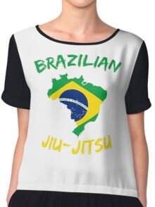 Brazilian Jiu-Jitsu Martial Arts Chiffon Top