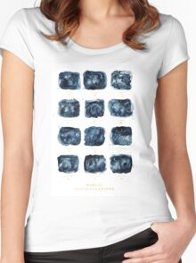Zodiac Constellation Women's Fitted Scoop T-Shirt