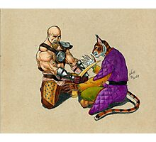 Khajiit has Wares Photographic Print