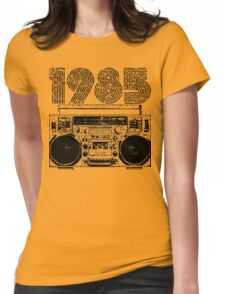 1985 Boombox Womens Fitted T-Shirt