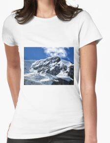 Mt Andromeda  Womens Fitted T-Shirt