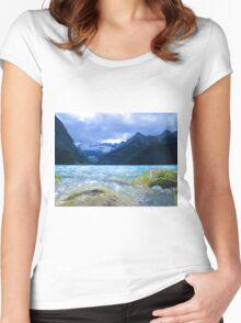 Peyto Lake Alberta, Canada Women's Fitted Scoop T-Shirt