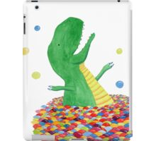 Tyrannosaurus just wants to have fun iPad Case/Skin