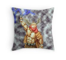 Almighty Thor Throw Pillow