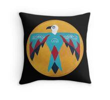 Native American Thunderbird - T-shirt Throw Pillow