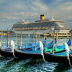 Boats everywhere - in Venice by Thea 65