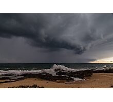 Bunbury Storm Clouds Photographic Print